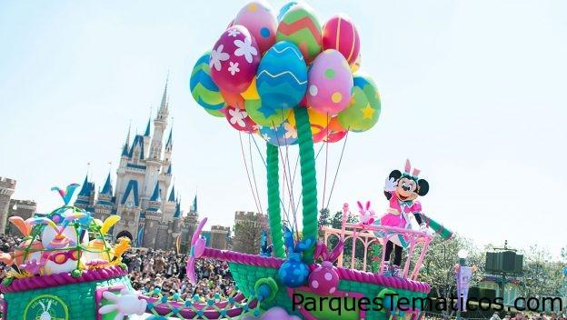 La Pascua se adueña de ambos parques en Tokyo Disney Resort