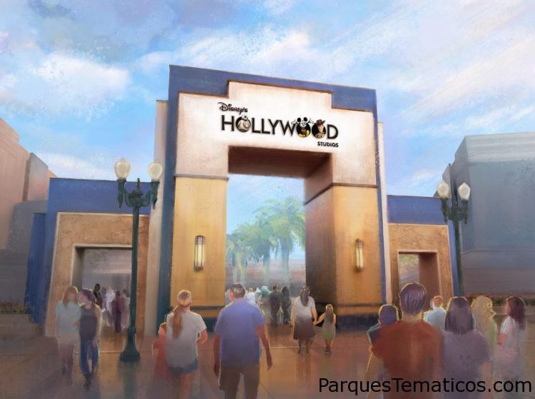 New Disney's Hollywood Studios Logo