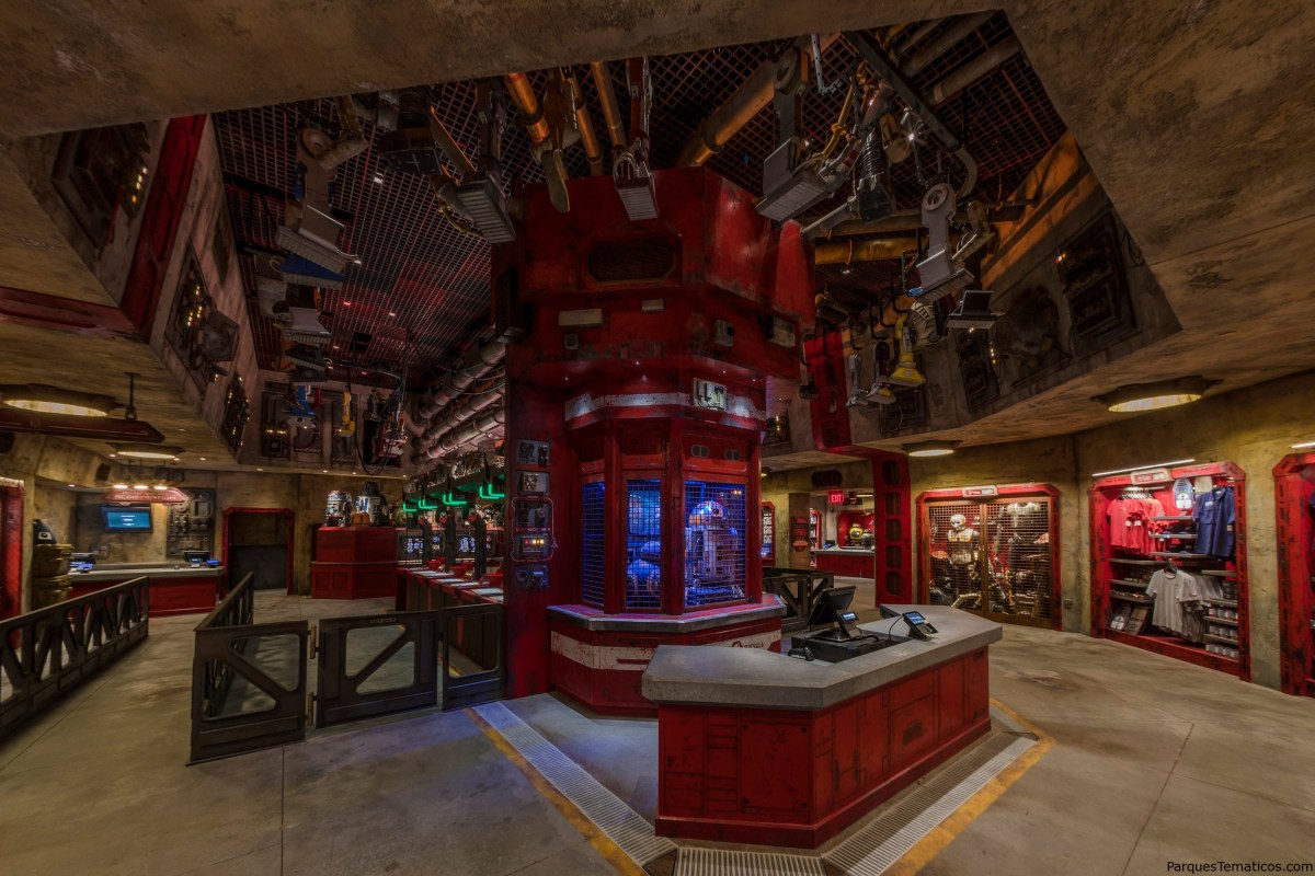 Star Wars: Galaxy's Edge merchandising exclusivo