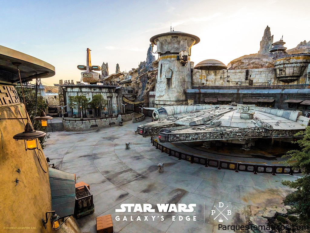Descarga el fondo de pantalla digital de Star Wars: Galaxy's Edge