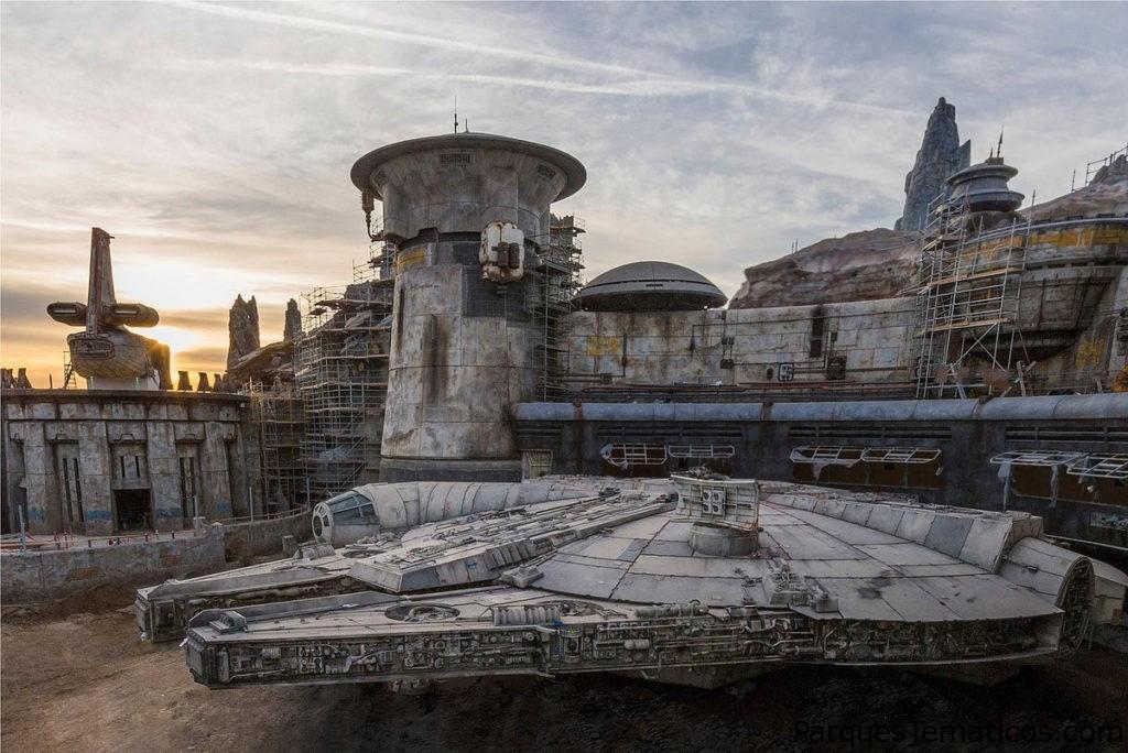 Transmisión en vivo de la inauguración de Star Wars: Galaxy's Edge en Disneyland el 29 de mayo a las 8:20 p.m. PDT