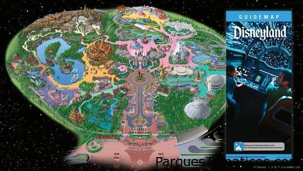 Mapas de Star Wars: Galaxy's Edge en Disneyland