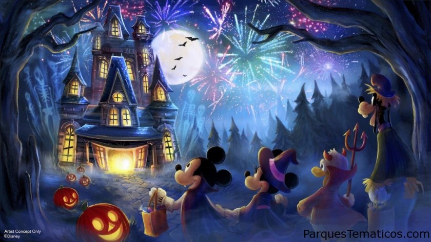 New Fireworks Show for Mickey's Not-So-Scary Halloween Party at Magic Kingdom Park
