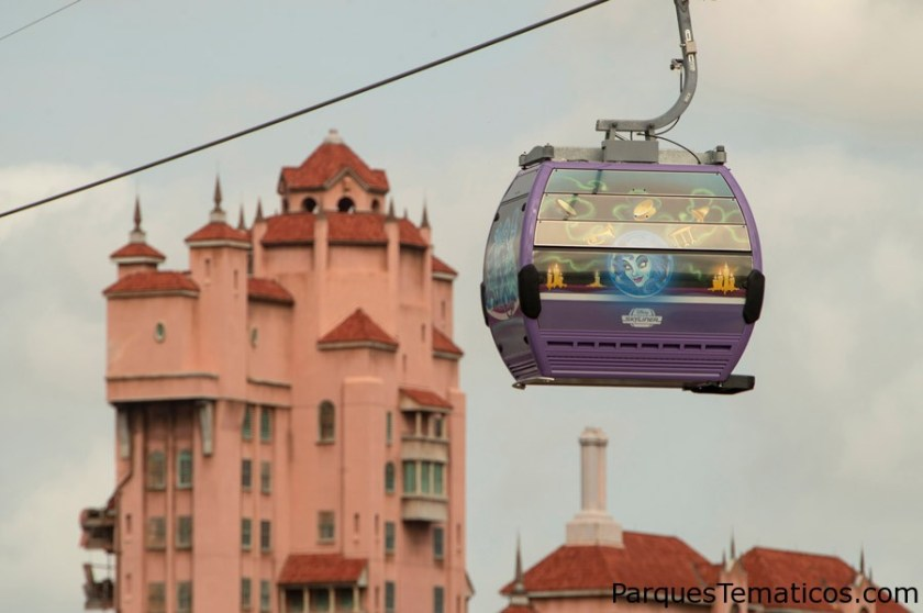 Disney Skyliner Takes Flight