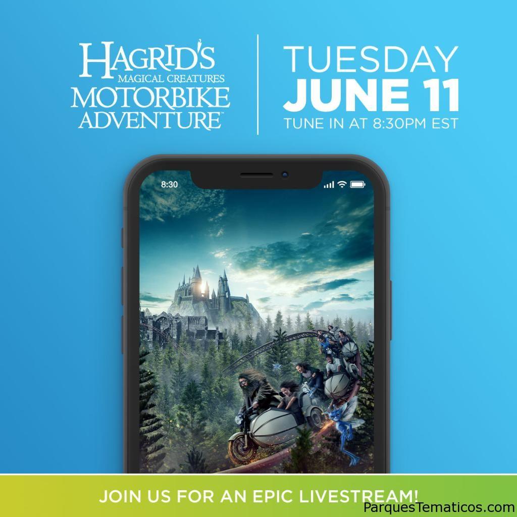Detalles de Hagrid´s Magical Creatures Motorbike Adventure y pre-apertura el 11 de junio