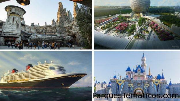 Novedades hasta el 2023 en los Parques Disney de todo el mundo