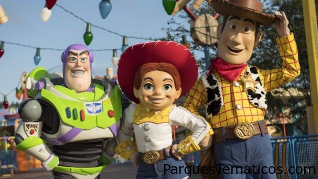 Toy Story 4 de Disney Pixar en Disney´s Hollywood Studios