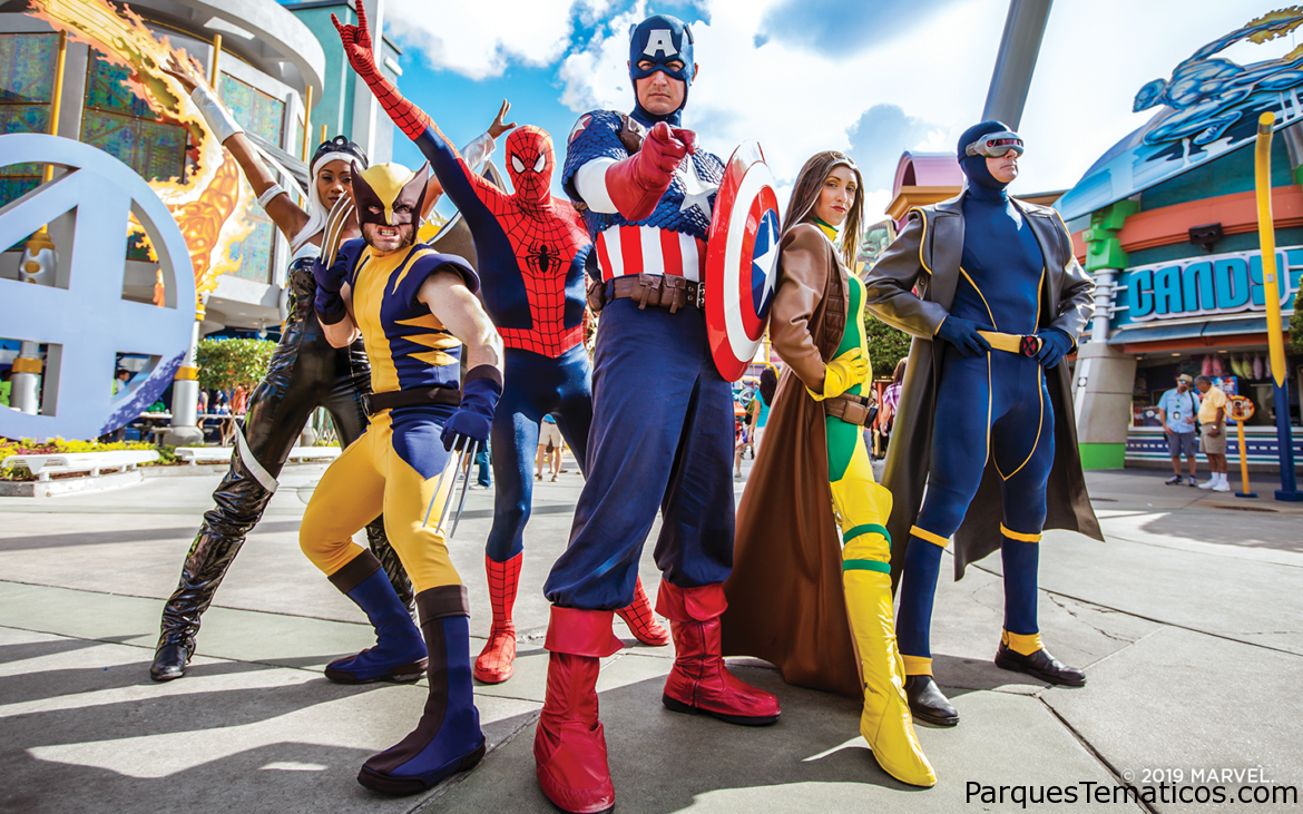 Guía Marvel Super Hero en Islands of Adventure