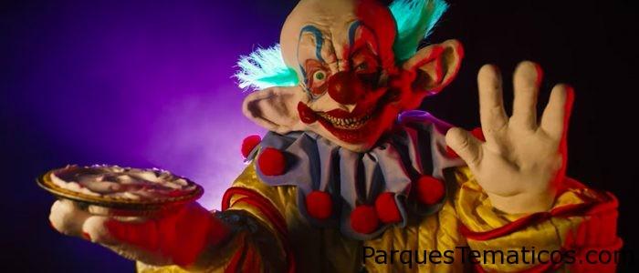 Killer Klowns aterriza en Halloween Horror Nights de Universal Studios