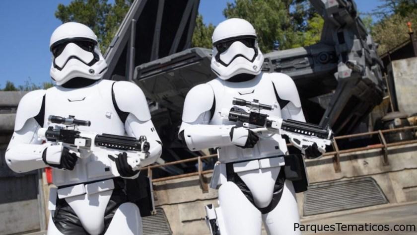 Encuentro entre First Order y héroes de la Resistencia en Star Wars: Galaxy´s Edge