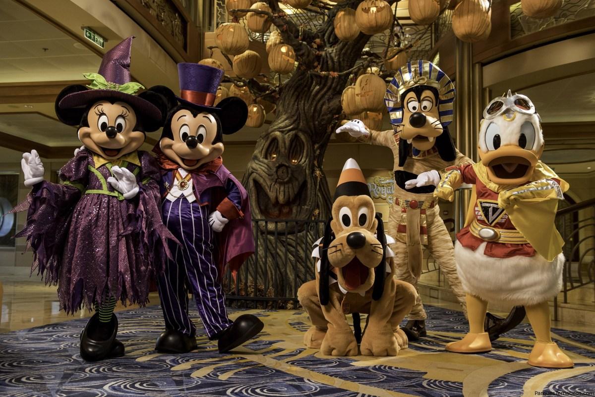 Disney Cruise Line con celebraciones terriblemente divertidas de Halloween