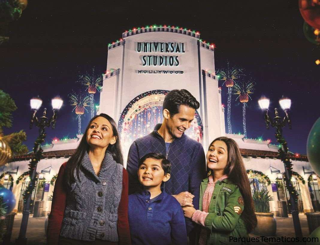Universal Studios Hollywood celebra con los favoritos de las fiestas tradicionales del 28 de noviembre al 29 de diciembre