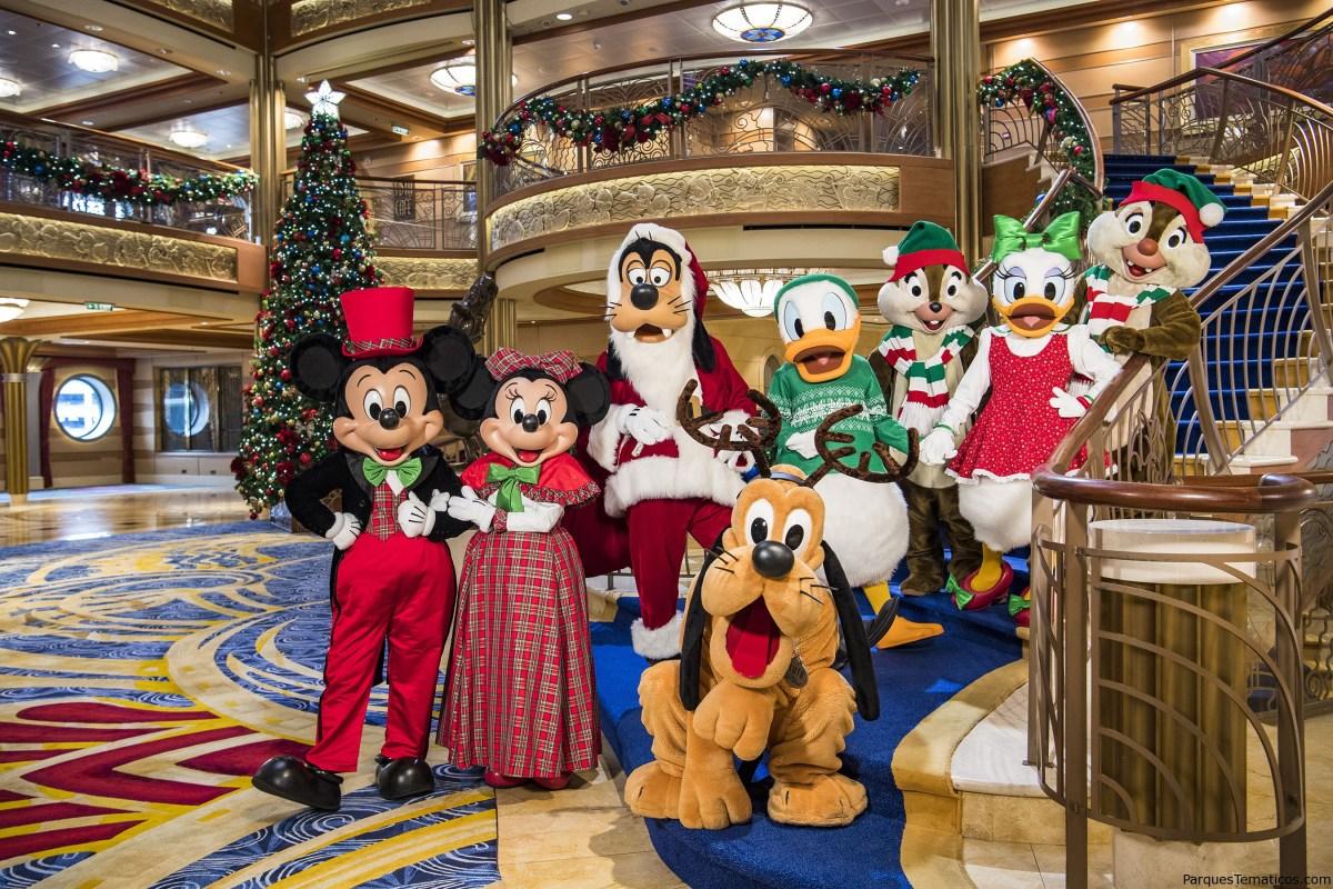 Unas vacaciones mágicas a bordo de la línea de cruceros de Disney