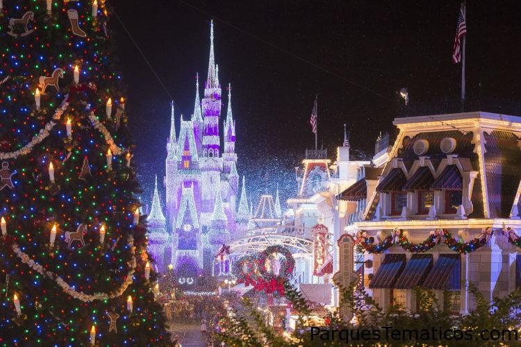 Navidad en Walt Disney World 2019