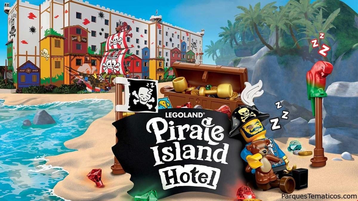 Hotel Legoland Pirate Island inaugura el 17 de abril 2020