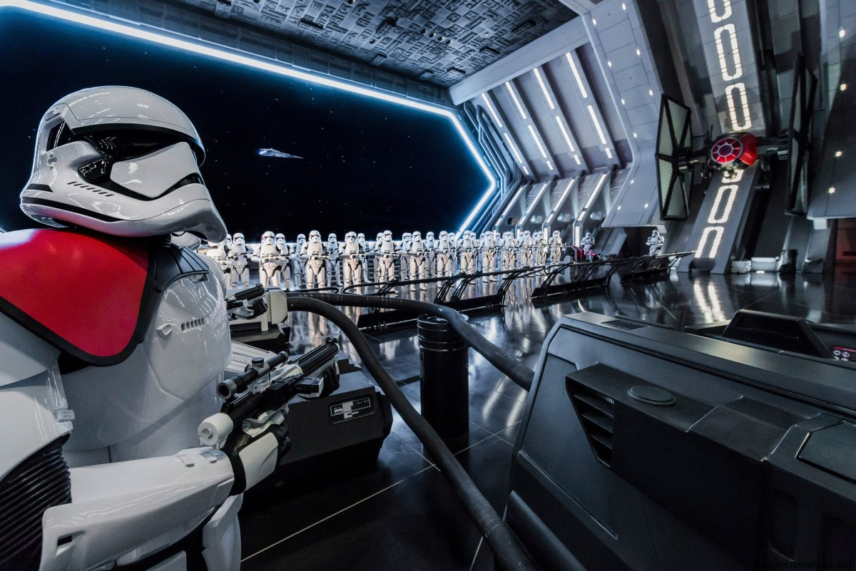 Star Wars Rise of the Resistance llegó a Disneylandia 2020