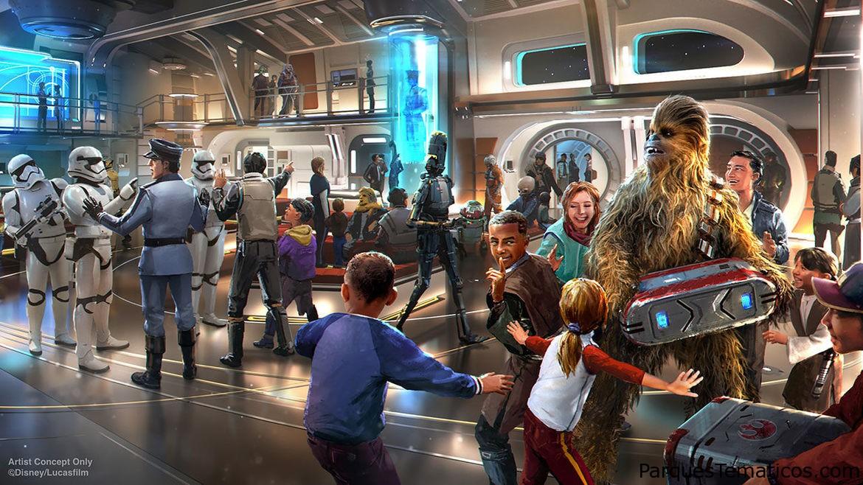 Star WarsGalactic Starcruiser llevará a los huéspedes de Walt Disney World Resort a una galaxia muy, muy lejana
