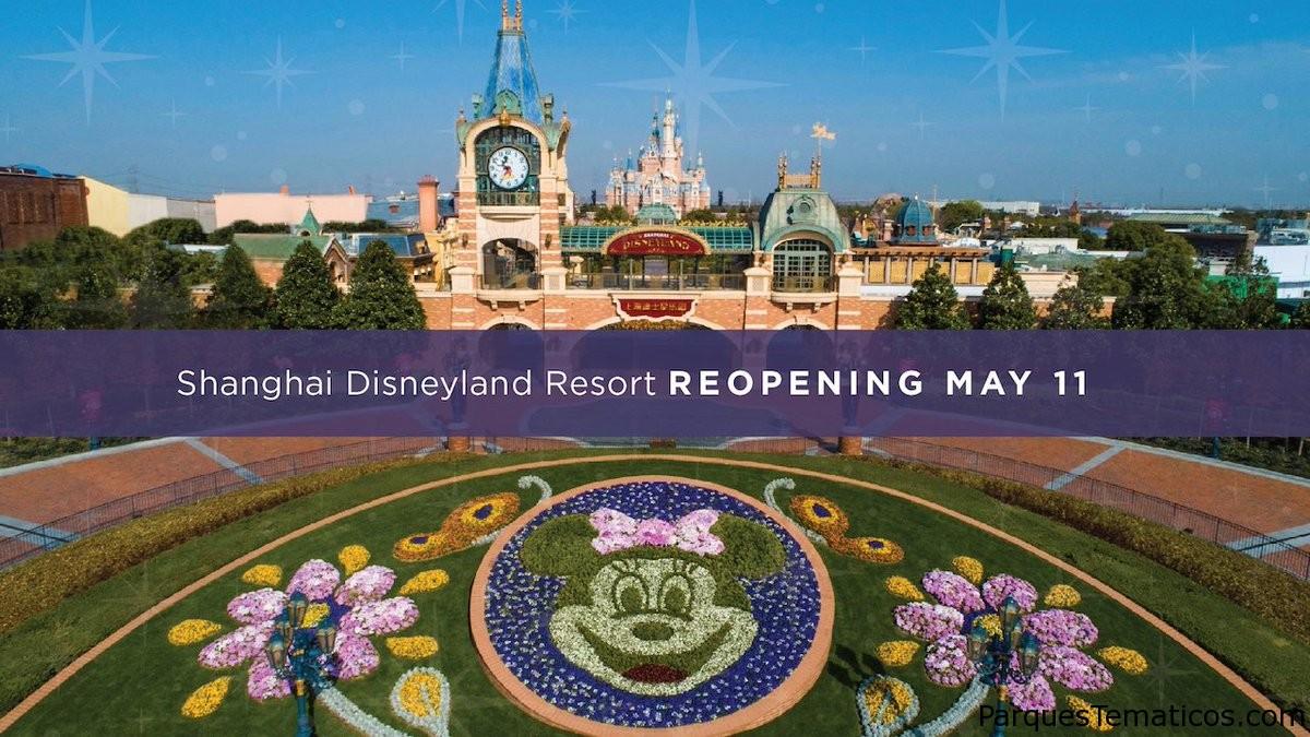 Shanghai Disneyland comienza su reapertura por fases el 11 de mayo