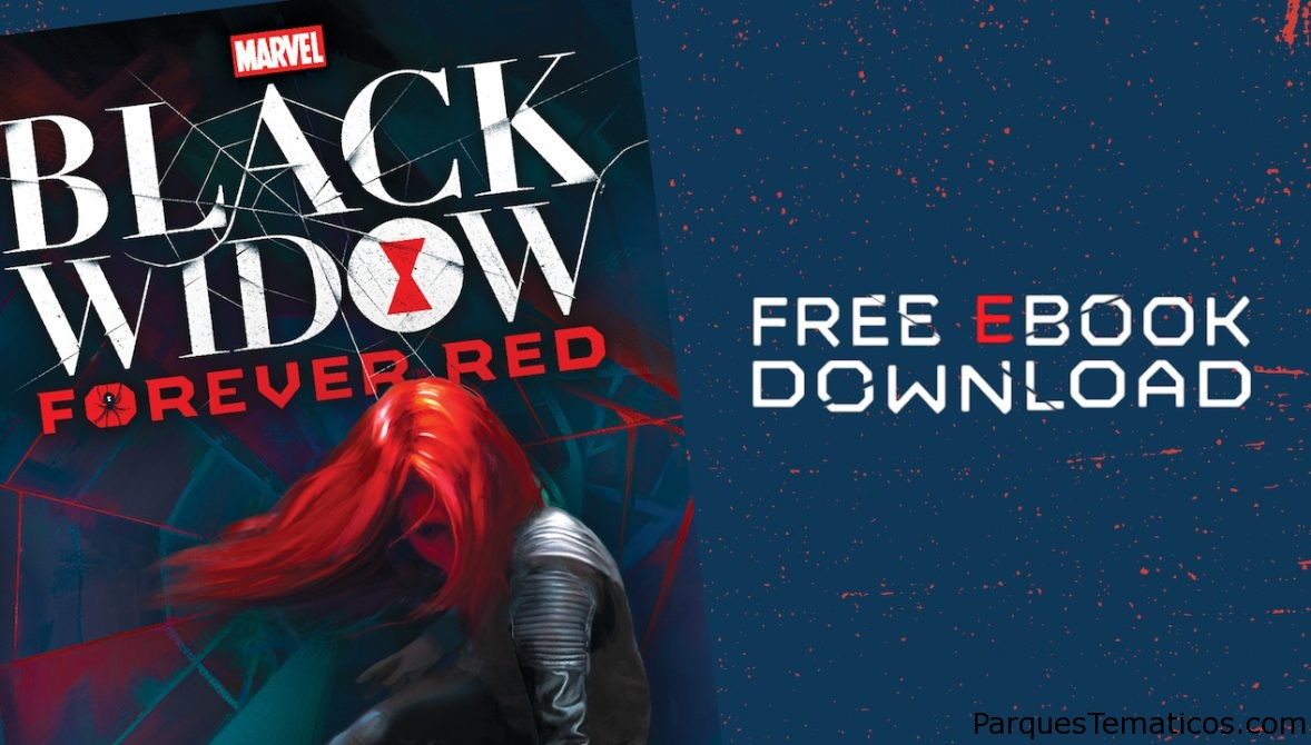 Descarga el eBook de Black Widow Forever Red gratis por tiempo limitado