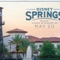 Disney Springs Orlando comienza su reapertura por fases el 20 de mayo