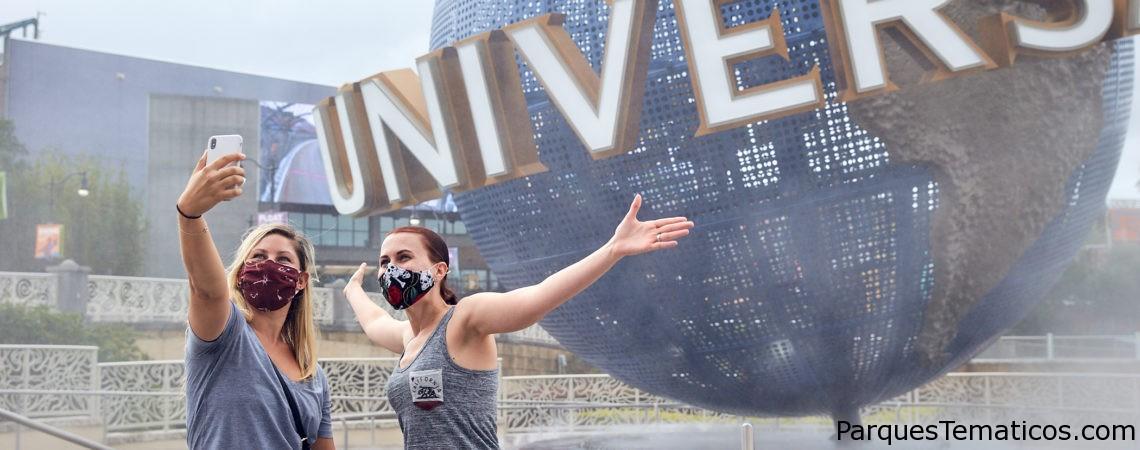 Universal Orlando Resort comenzó reapertura por fases