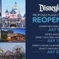 Disneyland Resort con reapertura por etapas el 9 de julio, y la reapertura de los parques temáticos el 17 de julio