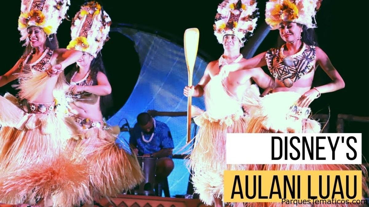 Celebre el mes nacional de Lū'au en Aulani Resort