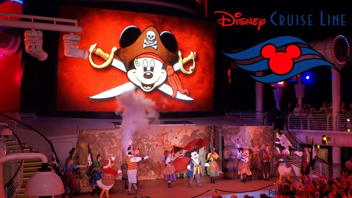 Disney Cruise Line en casa, la vida de un Pirata a bordo