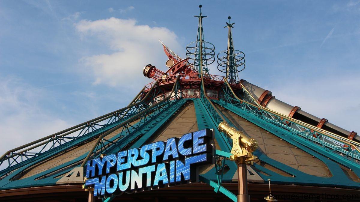 Space Mountain celebró su 25 aniversario en Disneyland Paris