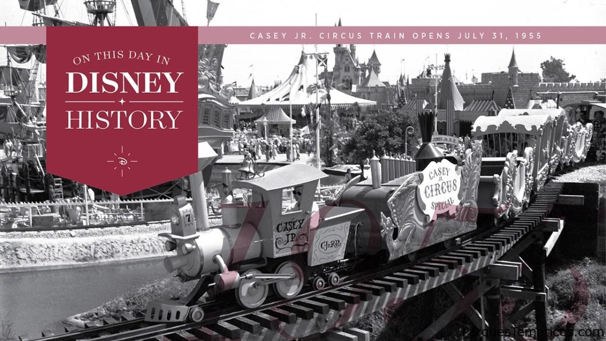 Hoy en la historia de Disney: Casey Jr. Circus Train abre en el parque Disneyland, 1955