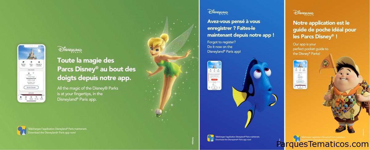 Mejoras en el App de Disneyland Paris