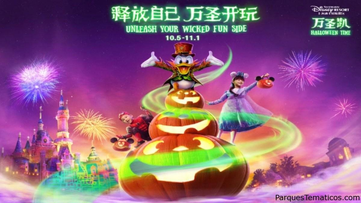 Halloween llega a Shanghai Disney Resort con una nueva fiesta espeluznante y sorpresas terriblemente divertidas