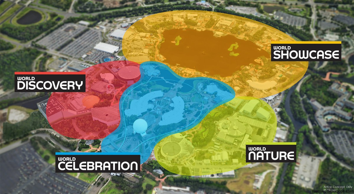 Continua la transformación histórica de EPCOT en Walt Disney World