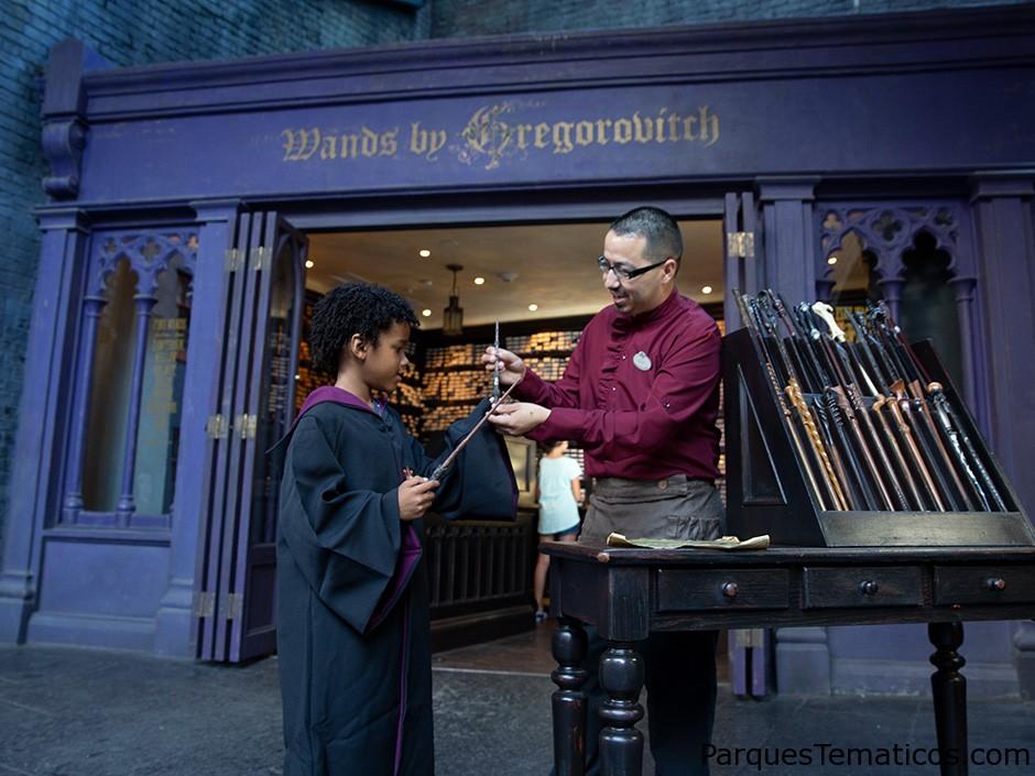 Compras en The Wizarding World of Harry Potter en Universal Orlando Resort