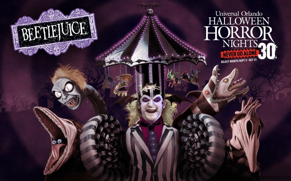 Universal Orlando Resort anuncia el tan esperado regreso de Halloween Horror Nights celebrando 30 años de terror este otoño y revela su primera casa de terror de la temporada, basada en la icónica comedia de horror Beetlejuice