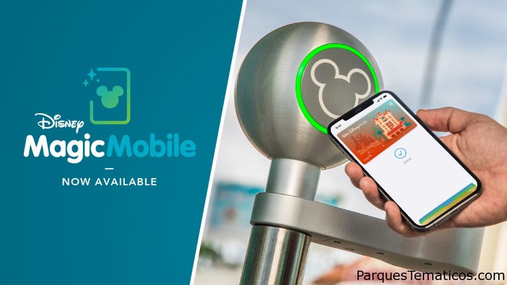 Disney MagicMobile se lanza en dispositivos Apple para ingresar a los parques Walt Disney World
