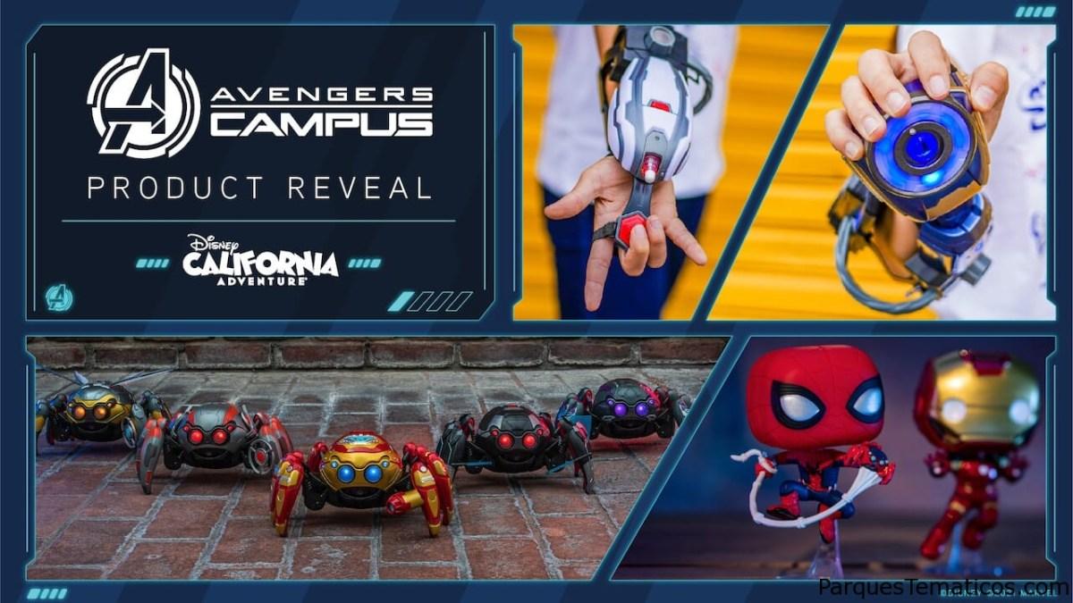 El nuevo Avengers Campus en Disneylandia California nos muestra su merchandising