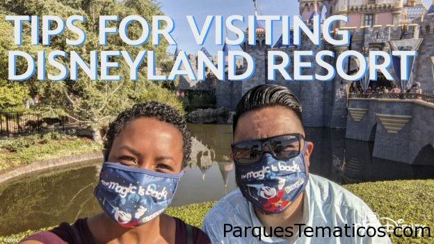 Consejos para visitar Disneylandia 2021