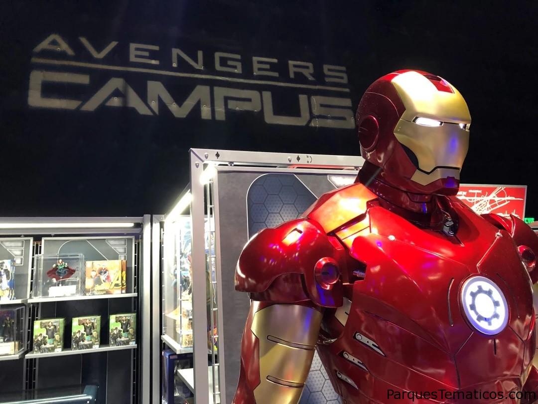 Datos curiosos Avengers Campus en Disney California Adventure Park