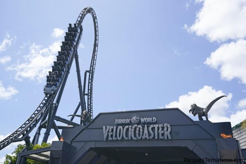 En minutos en vivo apertura oficial de Jurassic World VelociCoaster en Universal's Islands of Adventure