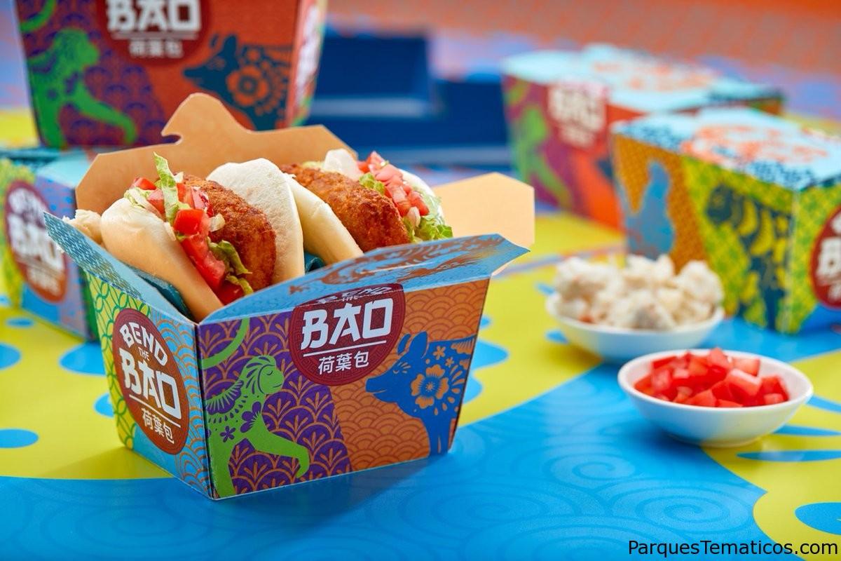 Nuevo local de comidas fusión asiática Bend The Bao llegó a Universal CityWalk