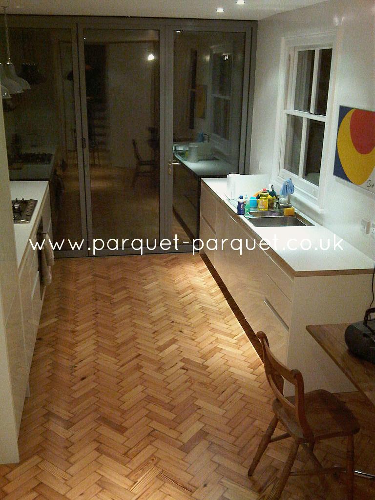 PITCH PINE  Reclaimed Parquet  Parquet Parquet