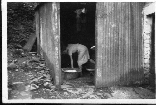 Parracombe Flood of 1952 Mill Farm - Kind permission of Emma Daborn