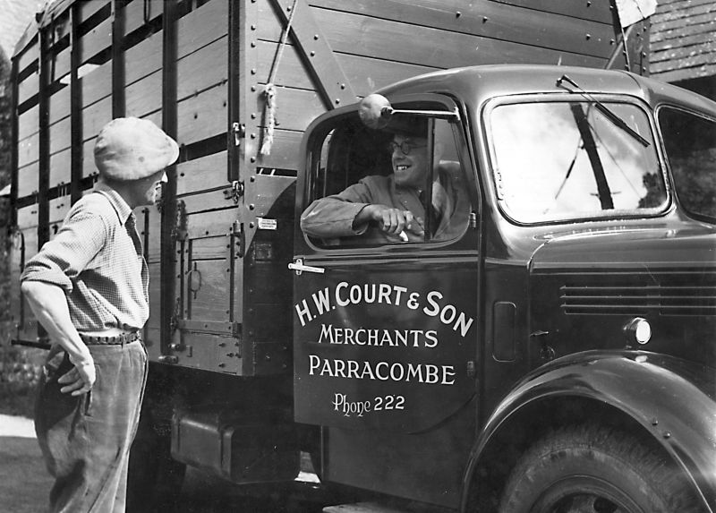 H.W. Court and Son lorry - kind permission of George Court