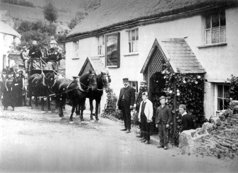 Fox and Goose Pub, Parracombe, Exmoor - Kind permission of Pam Sanders
