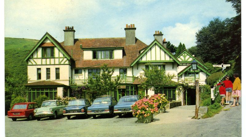 Historic images of Hunters Inn, Parracombe