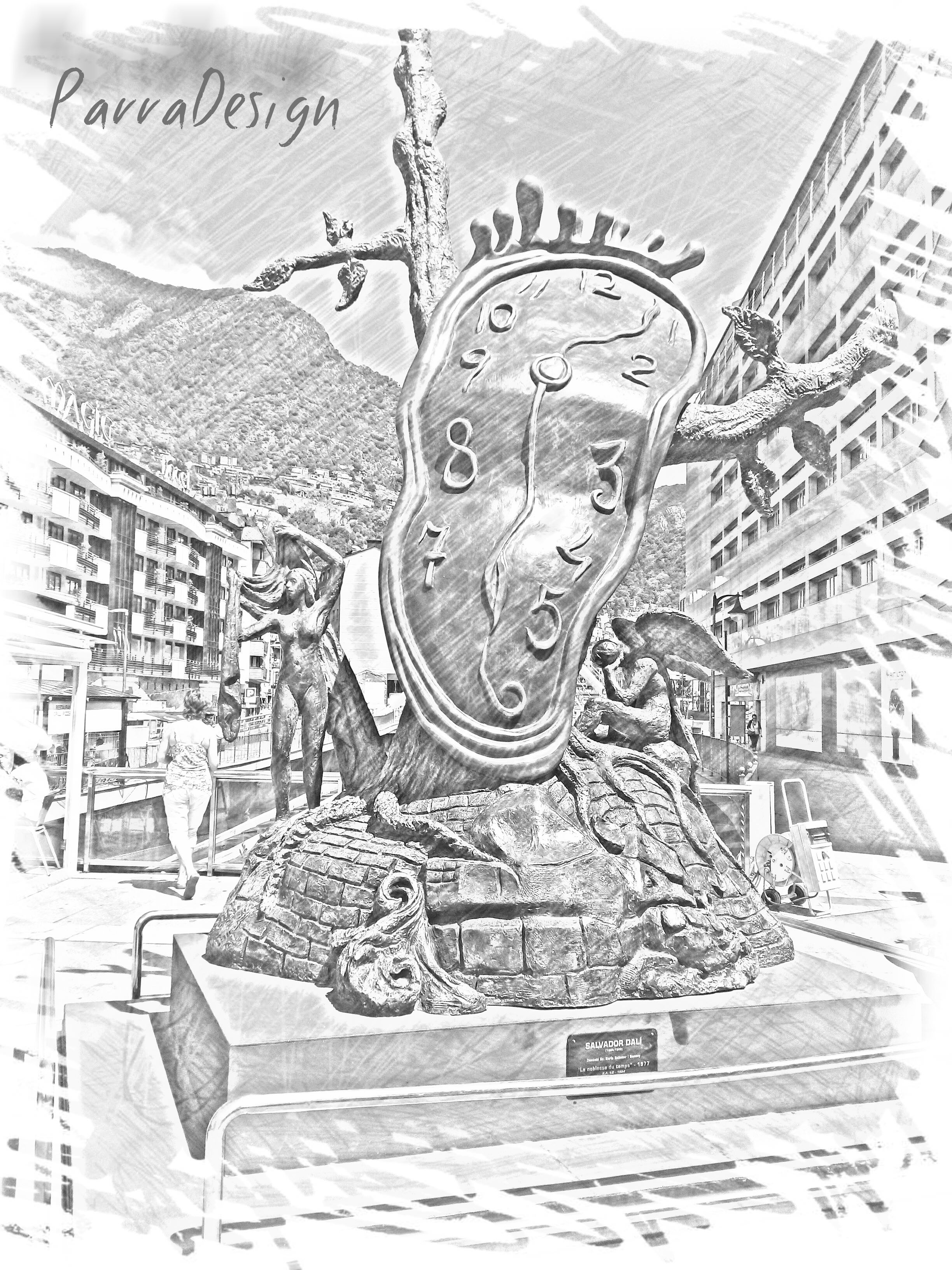 Andorra_escultura_reloj
