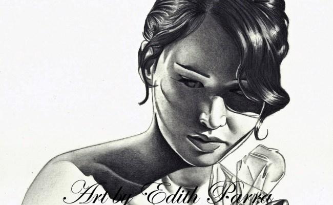 The Hunger Games Edith Parra Exceptional Portrait Artist