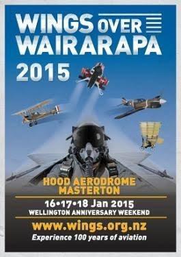 Wings over Wairarapa Poster