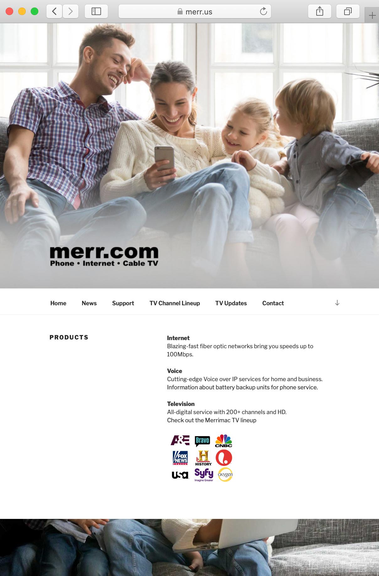 New Site for Merr